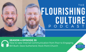 Bill Bush Dave Sutherland on healthy communication and trust in ministry
