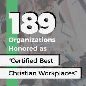 "Record Number 189 Organizations Honored as ""Certified Best"