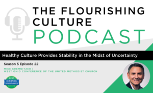 healthy culture provides stability in uncertainty mike kremnitzer